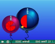 Balloon pop math fractions online